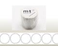 【マスキングテープ】 mt×mina tambourine grande・silver