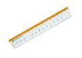 【学童用品 定規】 nanopita直定規ナノピタキッズ SK−7880 (15cm)