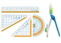 【学童用品 定規】 nanopita定規セットくるんパス入り ナノピタキッズ SK−7886