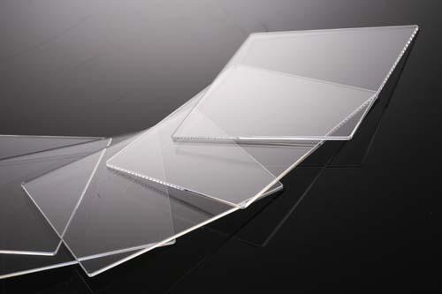 薄型合成石英基板 Labo-CG  18×18×0.17t(mm) 5枚