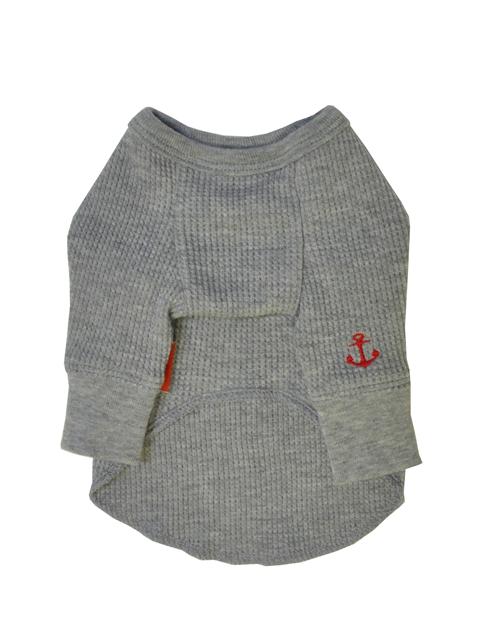 ワッフルロングTシャツ 1号