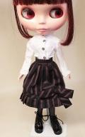 HS リボン付スカート/ブライスサイズbb010