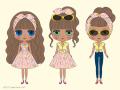ショップ限定ネオブライス 「パイナップル・プリンセス」Pineapple Princess