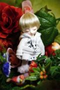 DOLKBrownie3〜4インチウィッグ Blond(BOW-01BL)