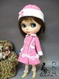 CCTピンクスノウドレスセットc136