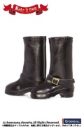 Shoes Selection エンジニアブーツ(ブラック)テヤンサイズ