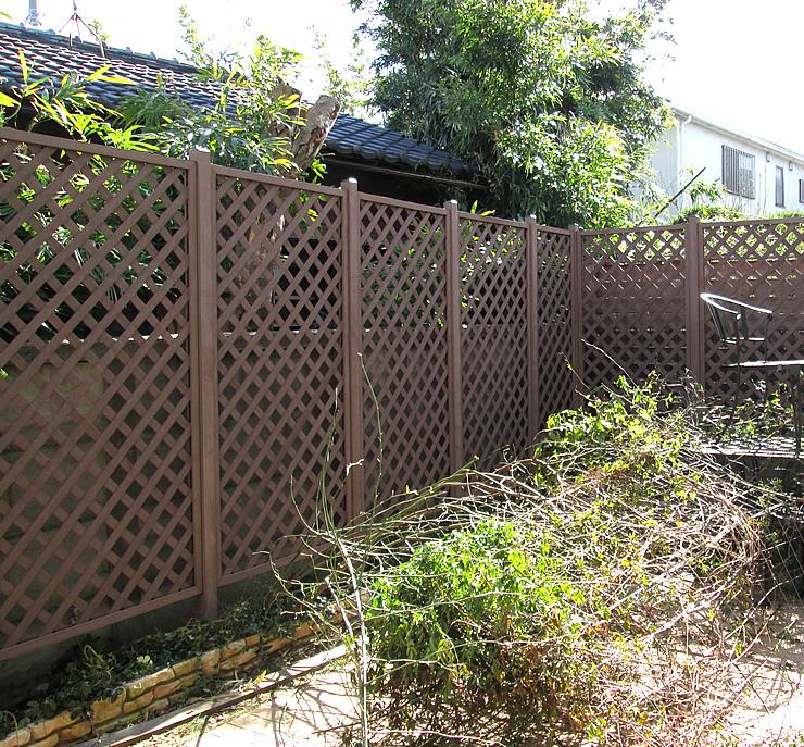 お庭への設置例
