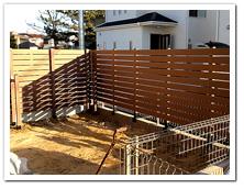 新築お住まいへのボーダーフェンス設置