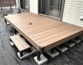 人工木デッキ1間6尺