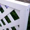 人工木プレミアムホワイト塗装ラティス1890
