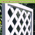 人工木ホワイト塗装ラティス1290