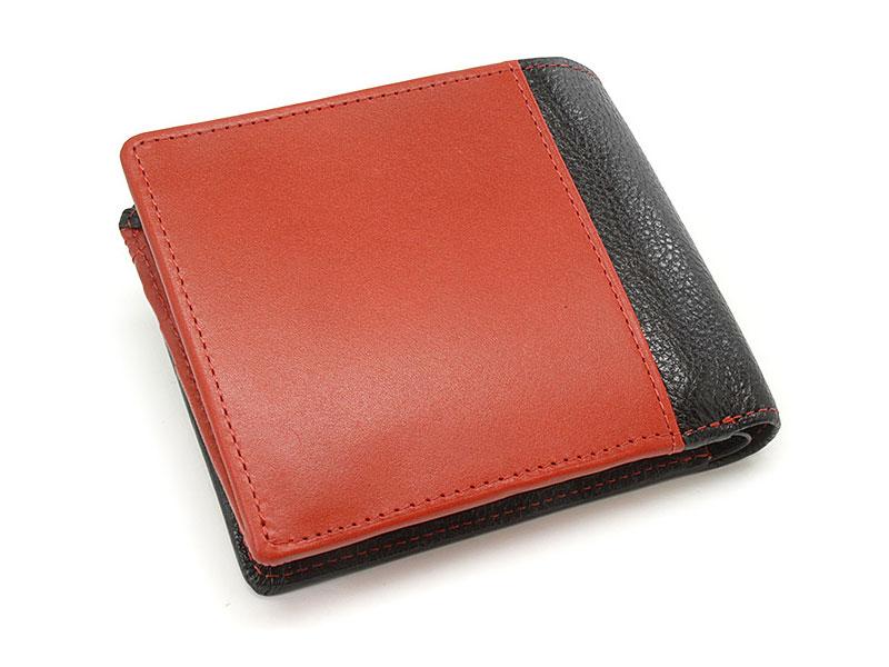 NPF6212 Favor(フェイバー)  二つ折り財布(小銭入れあり) 「プレリートラディッショナルファクトリー」 レッド 正面