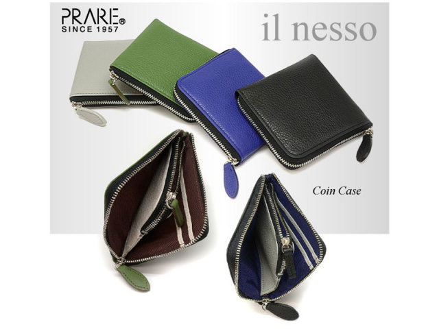 il nesso(イルネッソ) L字ファスナーコンパクト財布(小銭入れ) 「プレリー1957」 NP02575 イメージ画像