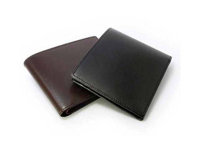 ボックスカーフヴェネチアン 二つ折り財布(小銭入れなし) 「プレリーギンザ」 NP56216 イメージ