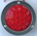 丸形LEDテールランプ  赤色(尾灯、制動灯)ECE(Eマーク)規格適合品VS-L141VR1