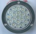丸形LEDテールランプ  白色(後退灯)ECE(Eマーク)規格適合品VS-L141VW1