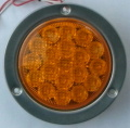 丸形LEDテールランプ  橙色(方向指示灯)ECE(Eマーク)規格適合品VS-L141VY1