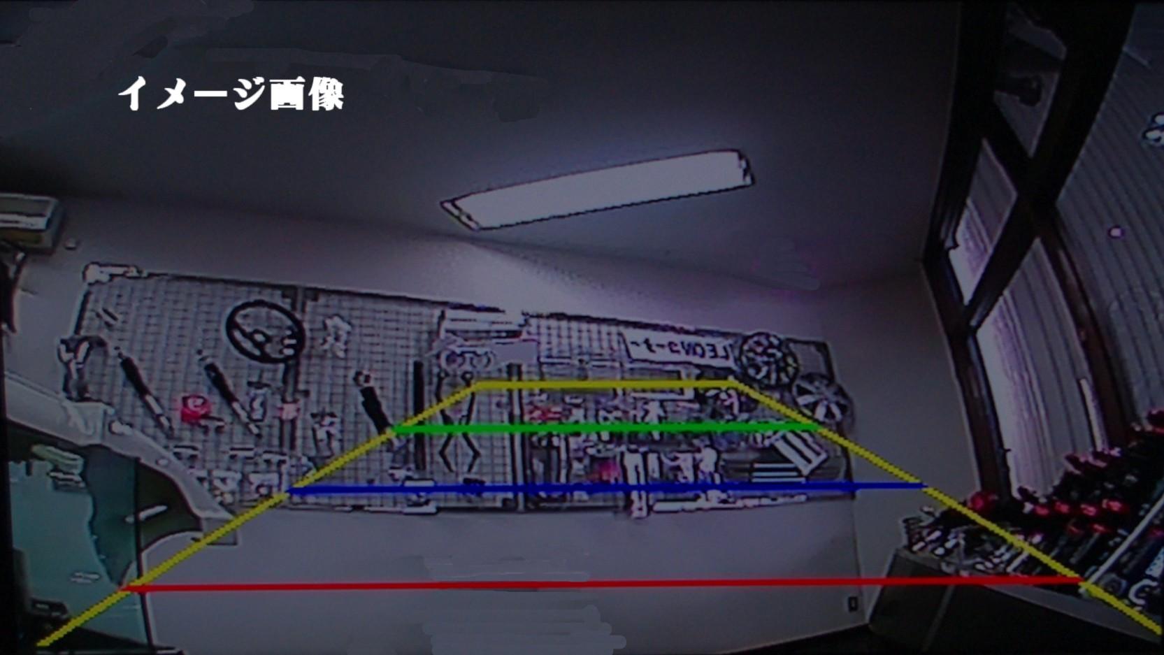 カメラ一体型ナンバーフレーム