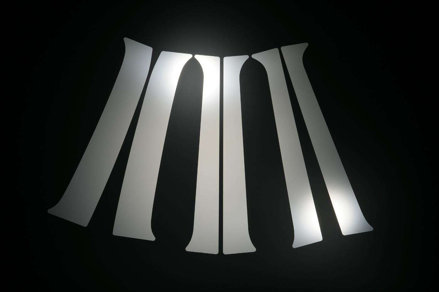 【スズキ】【セルボ】 HG21S ステンレスピラー 6枚セット