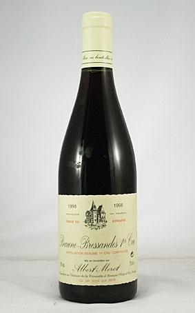 アルベール・モロ ボーヌ 1er Cru ブレッサンド 1998年(一級畑)