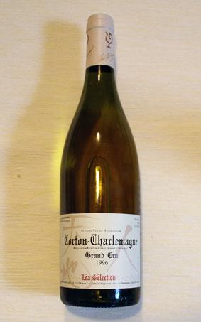 ルー・デュモン レア・セレクション コルトン・シャルルマーニュ Grand Cru 1996年(特級畑)