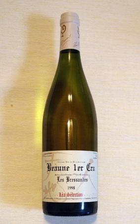 ルー・デュモン レア・セレクション ボーヌ 1er Cru ブレッサンド ブラン 1998年(一級畑)