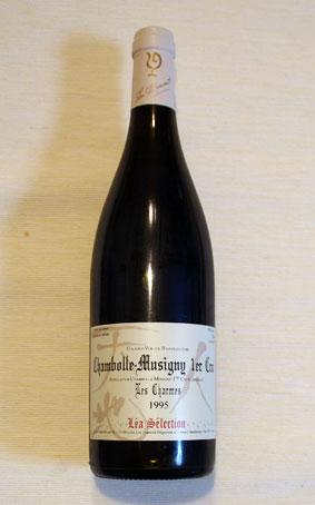 ルー・デュモン・レア・セレクション シャンボール・ミュジニー 1er Cru レ・シャルム 1995年(一級畑)