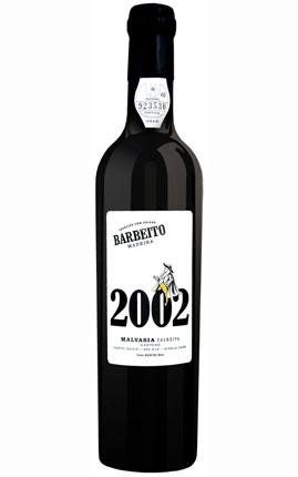 マデイラ ヴィニョス・バーベイト マルヴァジア コリェイタ 2002年(甘口)(500ml)