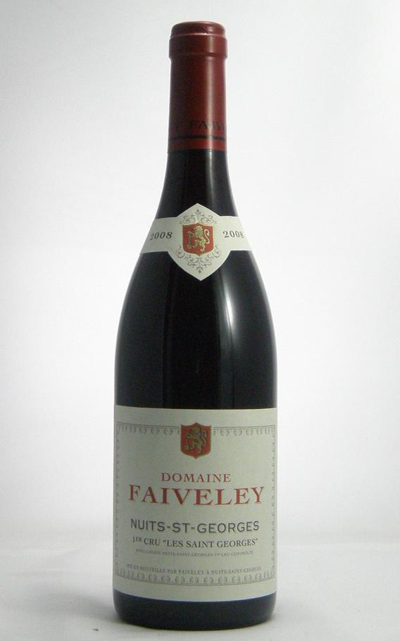 ポルトガルワイン、フランスワインなどワイン通販 ドメーヌ・フェヴレ ニュイ・サンジョルジュ 1er Cru レ・サンジョルジュ 2008年