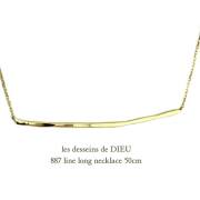 les desseins de DIEU 887 Line Long Necklace K18,�ϥ�ɥᥤ�� ���� ����ͥå��쥹 ��� 18��,��ǥå���ɥ��ǥ塼 ���ܥͥå��쥹