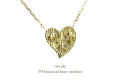 two ply 374 Botanical Heart Necklace,�ܥ��˥��� �ϡ��� ���� �ͥå��쥹 �ȥ��� �ץ饤