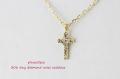 �ԥʥ��ơ��� 306 �����ˡ� ��������� ���? ����ͥå��쥹 18��,pinacoteca Tiny Diamond Cross Necklace K18