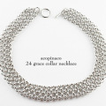acopinaco 24 ���졼�� ���顼 �ͥå��쥹 ���硼���� ����С�,�����ԥʥ� Grace Collar Necklace Silver,�ѡ��ƥ�  ���������꡼
