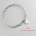 Dieu 01 Overlap Chain Bracelet �����С���å� �������� �֥쥹��å� �ǥ塼