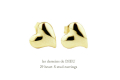 les desseins de DIEU 29 heart S Stud Earrings ��ǥå���ɥ��ǥ塼 �ϡ��� �����å� �ԥ���