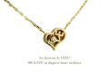 les desseins de dieu 846 love heart necklace