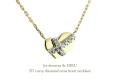 les desseins de DIEU 527 �����ӡ� ��������� ���? �ϡ��� �ͥå��쥹 K18,Curvy Diamond Cross Necklace ��ǥå���ɥ��ǥ塼