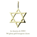 ��ǥå���ɥ��ǥ塼 946 �إ�������� �?�ܥ����� ϻ���� ������� ���㡼�� 18��,les desseins de DIEU Hexagram Charm K18