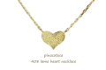 �ԥʥ��ơ��� 408 ��� �ϡ��� �ͥå��쥹 18�� �Ť��դ� �ץ쥼���,pinacoteca Lame Heart Necklace K18