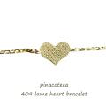 ピナコテーカ 409 ラメ ハート 華奢ブレスレット 18金,pinacoteca 409 Lame Heart Bracelet K18