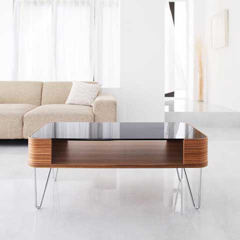 BENTWOOD GLASS TABLE ���饹�ơ��֥� 100cm