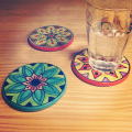 flower coaster instagram