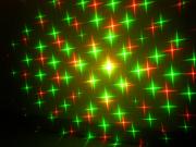 多機能スターレーザーライト(レーザービーム)、5種類のパターン演出可能です。