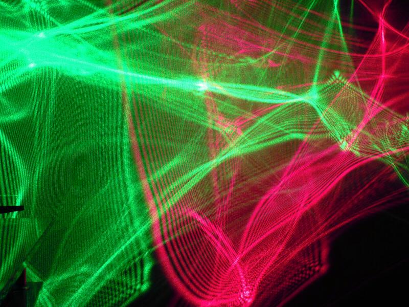 幻想的な光を演出オーロラエフェクトライト、今までに無い特殊な光の演出効果が実現できます。