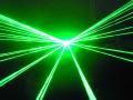 光学式80mwグリーンレーザービーム (レーザーライト)新製品