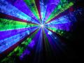 【新製品!】光学式スキャナー 2W RGB 7カラーレーザーライト(レーザービーム)