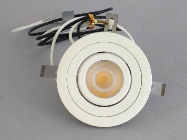 【即納】 UNITY/ユニティ LED家具・什器照明 LED棚下ユニバーサルダウンライト JR12V20W相当 ケーブルタイプ 100V直結 埋込穴75mm 色温度5000K 本体白 ☆コインエース☆ UDL-1902W-50