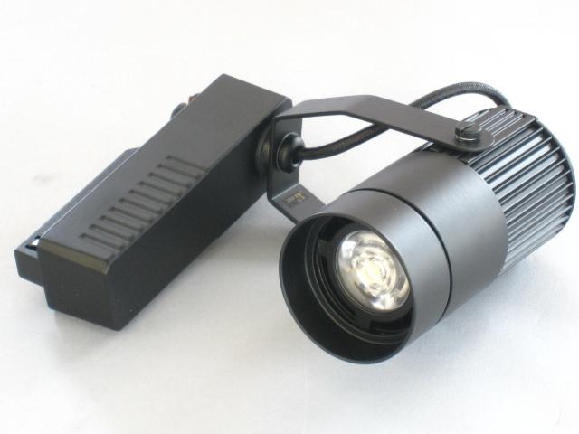 【即納】 UNITY/ユニティ LED ダクトレールスポットライト 調光対応タイプ JR12V50W相当 色温度3000K 中角 本体黒 ☆LEDレールライト スポット☆ USL-5150MB-30+UZL-5001B ※オプションフード付