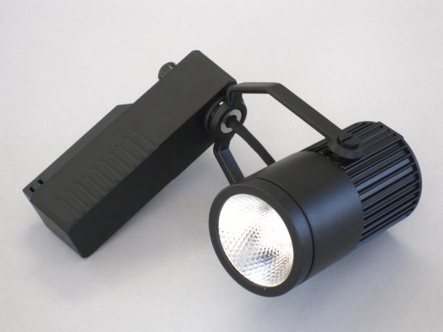 【即納】 UNITY/ユニティ LED ダクトレールスポットライト 調光対応タイプ JR12V50W相当 色温度3000K 中角 本体黒 ☆LEDレールライト スポット☆ USL-5151MB-30
