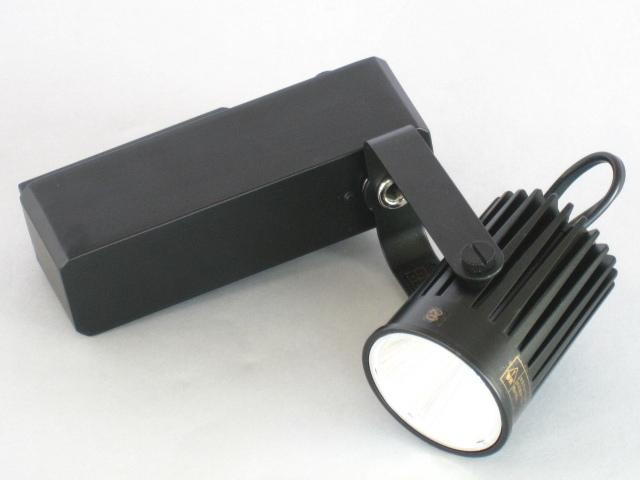 【即納】 UNITY/ユニティ LED ダクトレールスポットライト 小型 JR12V50W相当 色温度2700K 中角 本体黒 ☆LEDレールライト スポット☆ USL-5161MB-27